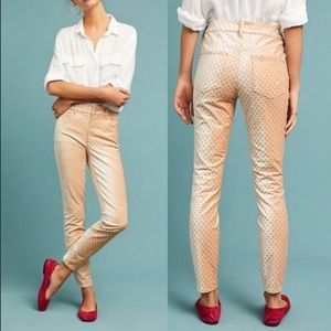Pilcro & The Letterpress Velvet Jeans